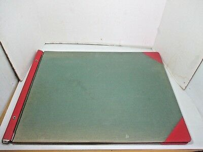 "Huge Vintage Western Bookbinding Co. Accounting Bookkeeping Ledger 25"" x 19"""