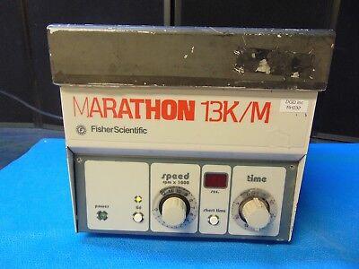 Fisher Scientific Marathon 13km Micro Centrifuge Powers On And Spins Rh232