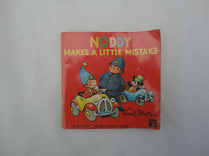 Noddy Makes A Little Mistake Enid Blyton Purnell Play Books Collectors