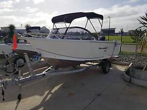 ANGLA PRO  484 Getaway with a Suzuki DF 70A  4 Stroke- 2016 Model Largs North Port Adelaide Area Preview