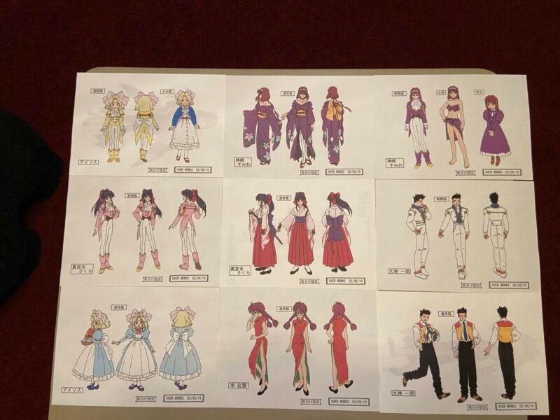 Sakura Taisen Settei Sheets