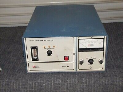 Thermo Electron Pulsed Fluorescent So2 Analyzer Series 43 1160