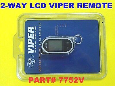 7752V EZSDEI7752 Viper Responder LC3 2-Way SST Supercode Transmitter Remote NEW