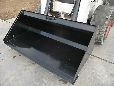 Bobcat Skid Steer Attachment 66 Low Profile Smooth Bucket - Free Shipping