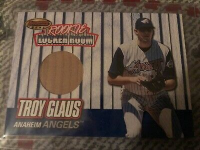 1999 Bowman's Best Rookie Locker Room Game Used Bats # RB3 Troy Glaus for sale  Wantagh