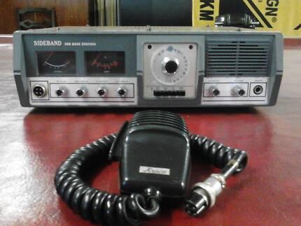 cb radio sideband ssb base station 23 ch hf works excelent