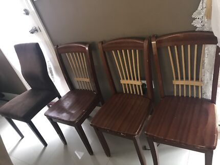 Dining chairs in great condition
