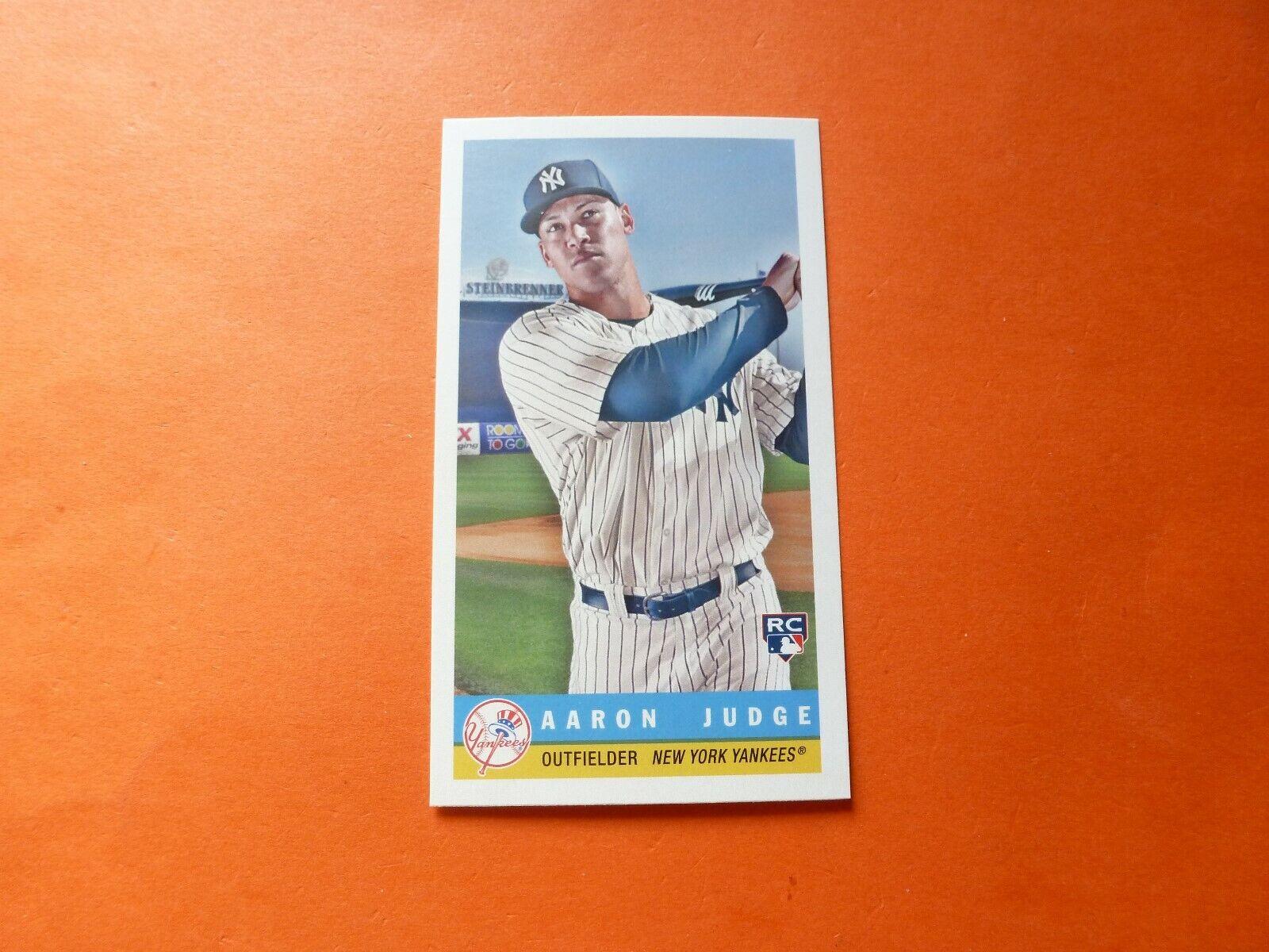 Aaron Judge RC, 2017 Topps Archives 1959 Bazooka Mini, 59B-7, New York Yankees