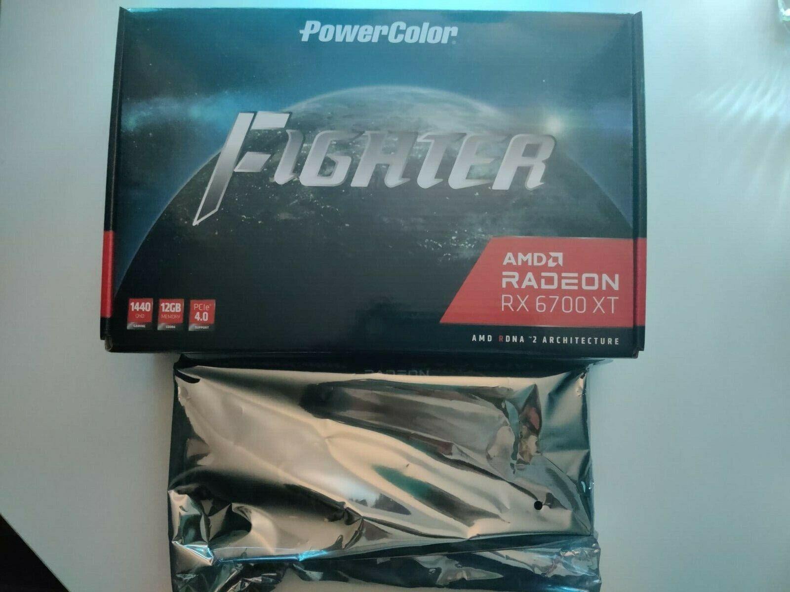 Grafikkarte Fighter AMD Radeon RX 6700 XT 12 GB PCIe 4.0