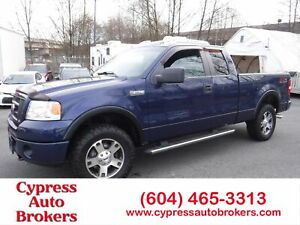 2007 Ford F-150 FX4 (Leather & Sunroof)
