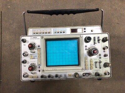 Tektronix 465 100mhz Oscilloscope With Dm43. From Local Power Company