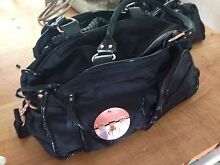 Mimco Baby Bag Black Lucid with Rose Gold Hardware Alderley Brisbane North West Preview