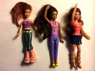 "3 Barbie dolls 5""- My Scene Chelsea #2 + Life in Dream House Teresa #5 + 1 more"
