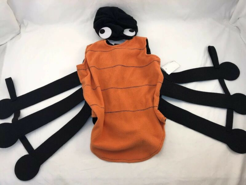 Pottery Barn Kids Puffy Spider Halloween Costume 12-24 mo NWT spooky retail $89