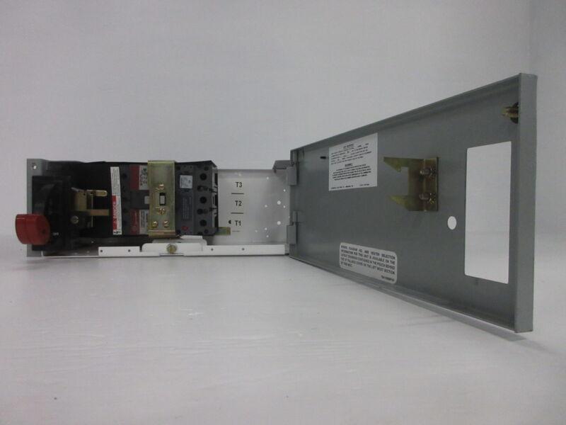 "General Electric GE 8000 50 Amp Breaker 6"" MCC Feeder Bucket w/ 50A SELA Breaker"