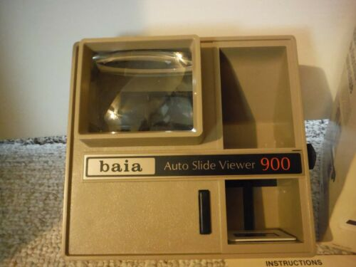 Baia 900 Iluminated Auto Slide Viewer Tested and WORKS !