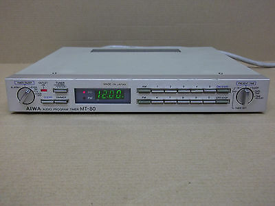 Rare Aiwa MT-80 Audio Program Timer