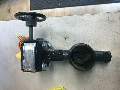 2 Butterfly Valve With Tamper Switch Fire Protection By Anvil Gruvlok New