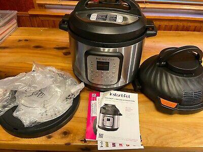 Instant Pot Duo Crisp 11-in-1 Air Fryer Lot2