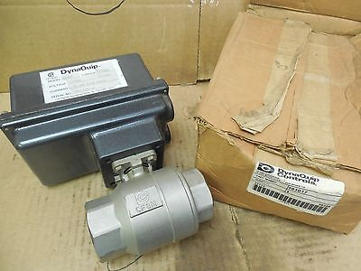 Dynaquip Electric Actuated Ball Valve 191017 Ae305 300 In Lb 1-12 Npt 115v New