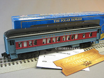 LIONEL POLAR EXPRESS HOT CHOCOLATE CAR GOLDEN TICKET Train ...