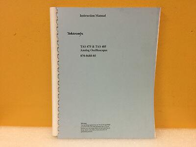 Tektronix 070-8688-05 Tas475 Tas485 Analog Oscilloscopes Instuction Manual