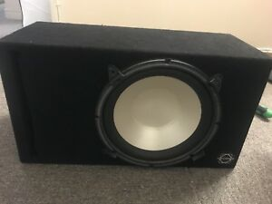 CAR SUBWOOFER 12 INCH INFINITY FOR SALE...