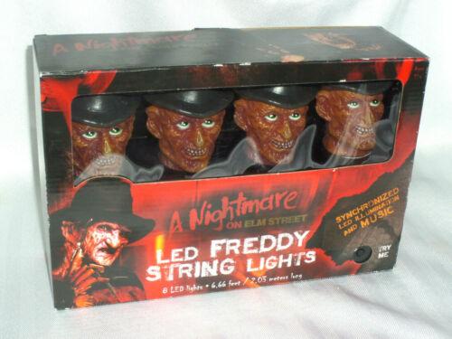 A Nightmare On Elm Street LED Freddy Krueger Lights & Music Horror BRAND NEW