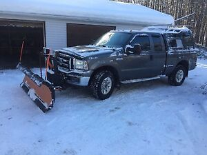 2006 Ford F-250 XLT 4x4 with 8' Arctic HD plow Peterborough Peterborough Area image 2
