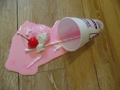 A Fake Sonic Ice Cream Spill