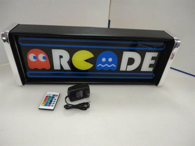 Arcade Game/Rec Room LED Display light box