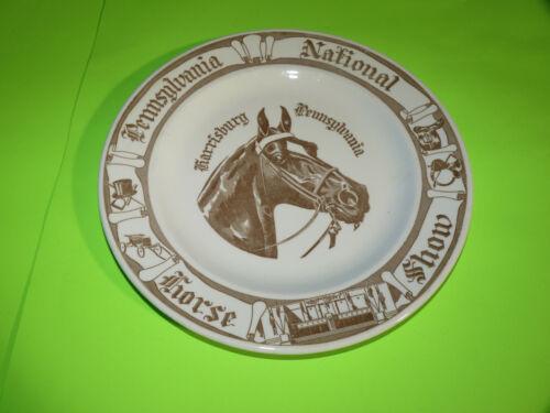 Pennsylvania National Horse Show, Harrisburg PA State Farm Collector Plate Rare