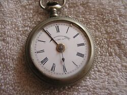 Antique Pocket Watch Alarm Clock