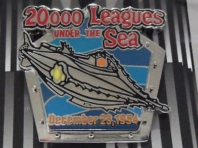 Disney Countdown to the Millennium Pin #10 20,000 Leagues Under The Sea 1954