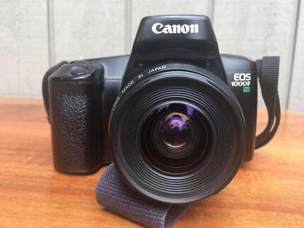 Canon EOS 1000F film camera