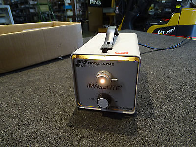 Stocker Yale Imagelite Fiber Optic Lamp Light Source Illuminator 115-220v