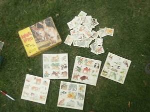 Games - animal lotto, retro Glen Waverley Monash Area Preview