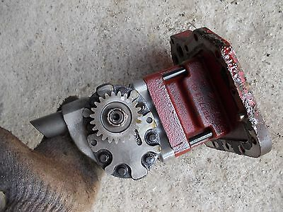 Farmall International 706 Tractor Good Working Hydraulic Pump Assembly Gear C