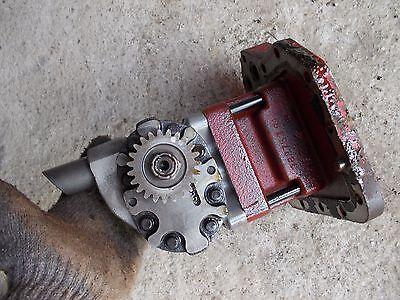 Farmall International 706 Tractor Good Working Hydraulic Pump Assembly Gear C