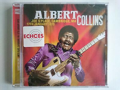 ALBERT COLLINS JOE'S PLACE CAMBRIDGE MAN JANUARY 1973 ECHOCD2004 NEW SEALED