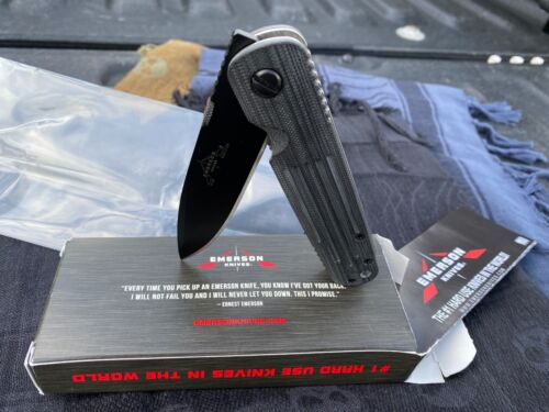 PROMETHEUS DESIGN WERX PDW SPD EMERSON KNIVES A-100 BT TAD GEAR STRIDER KNIFE