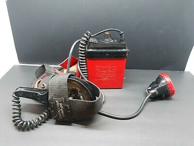 NITE LITE #NL682 Rechargeable Coon Hunting Light 6 Volt untested