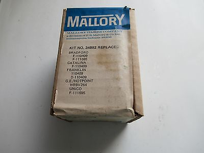 Mallory 34892 Defrost Timer Kit New