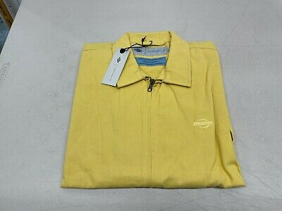 Dickies Construct Zip Front Shirt in Yellow - Large