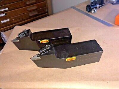 Sandvik Coromant Mvvnn 24 4d Lathe Tool Holders Quantity 2 New
