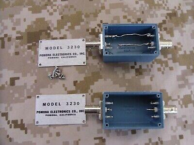 2 Itt Pomona Electronics 3230 Shielded Aluminum Box