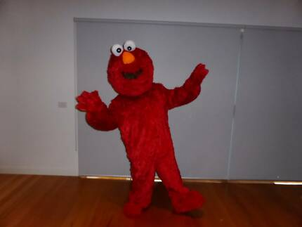 Mascot Costume Hire: Elmo and Cookie Monster Caroline Springs Melton Area Preview