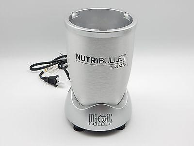 Nutribullet Prime Power Motor Base 1000 Watts Blender / Mixer + Recipe Book New