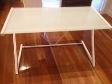 Modern Glass Top Desk Doncaster Manningham Area Preview