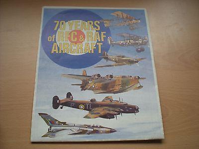 70 Years Of RFC & RAF Aircraft - Fold Away Chart